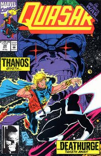 Cover for Quasar (Marvel, 1989 series) #39