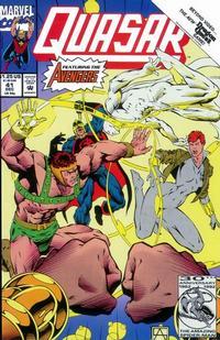 Cover Thumbnail for Quasar (Marvel, 1989 series) #41