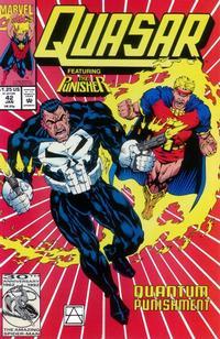 Cover Thumbnail for Quasar (Marvel, 1989 series) #42