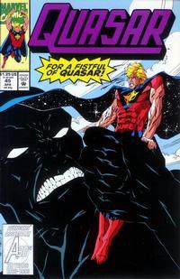 Cover Thumbnail for Quasar (Marvel, 1989 series) #45