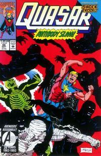 Cover Thumbnail for Quasar (Marvel, 1989 series) #46