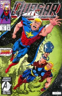 Cover Thumbnail for Quasar (Marvel, 1989 series) #47