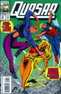 Cover Thumbnail for Quasar (Marvel, 1989 series) #49