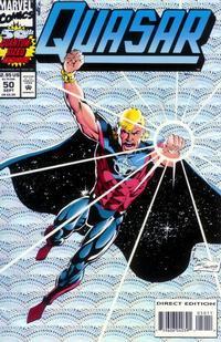 Cover Thumbnail for Quasar (Marvel, 1989 series) #50