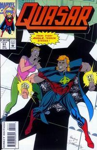 Cover Thumbnail for Quasar (Marvel, 1989 series) #51
