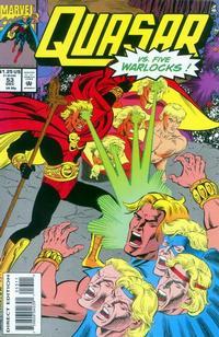 Cover Thumbnail for Quasar (Marvel, 1989 series) #53