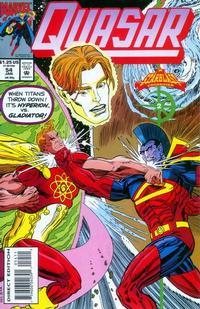 Cover Thumbnail for Quasar (Marvel, 1989 series) #54
