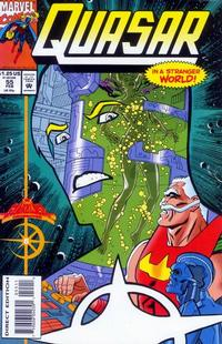Cover Thumbnail for Quasar (Marvel, 1989 series) #55