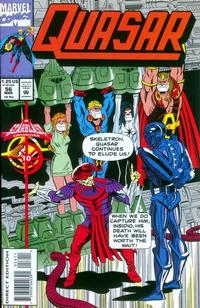Cover Thumbnail for Quasar (Marvel, 1989 series) #56