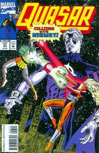 Cover Thumbnail for Quasar (Marvel, 1989 series) #57 [Direct Edition]