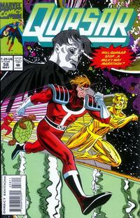 Cover Thumbnail for Quasar (Marvel, 1989 series) #58