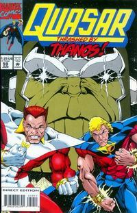 Cover Thumbnail for Quasar (Marvel, 1989 series) #59