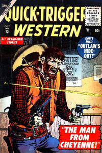 Cover Thumbnail for Quick Trigger Western (Marvel, 1956 series) #13