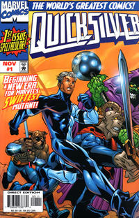 Cover Thumbnail for Quicksilver (Marvel, 1997 series) #1