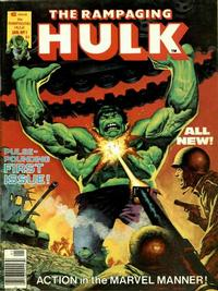 Cover Thumbnail for Rampaging Hulk (Marvel, 1977 series) #1