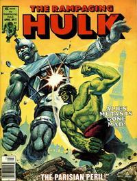 Cover Thumbnail for Rampaging Hulk (Marvel, 1977 series) #2