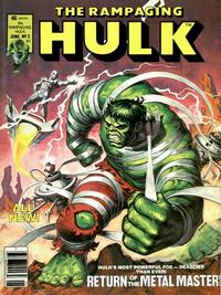 Cover Thumbnail for Rampaging Hulk (Marvel, 1977 series) #3