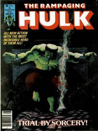 Cover Thumbnail for Rampaging Hulk (Marvel, 1977 series) #4
