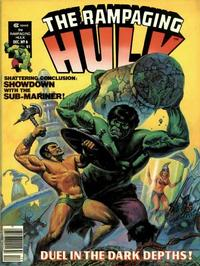 Cover Thumbnail for Rampaging Hulk (Marvel, 1977 series) #6