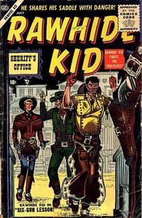 Cover Thumbnail for Rawhide Kid (Marvel, 1955 series) #3