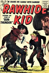 Cover for Rawhide Kid (Marvel, 1955 series) #11