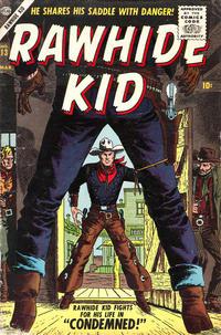 Cover Thumbnail for Rawhide Kid (Marvel, 1955 series) #13