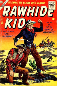 Cover Thumbnail for Rawhide Kid (Marvel, 1955 series) #15