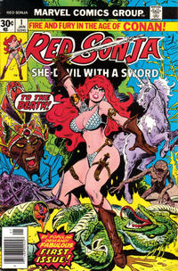 Cover Thumbnail for Red Sonja (Marvel, 1977 series) #1 [Regular Edition]