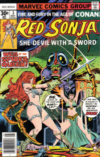Cover Thumbnail for Red Sonja (Marvel, 1977 series) #3