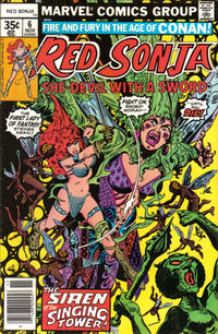 Cover Thumbnail for Red Sonja (Marvel, 1977 series) #6