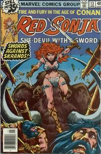 Cover Thumbnail for Red Sonja (Marvel, 1977 series) #13