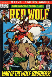 Cover Thumbnail for Red Wolf (Marvel, 1972 series) #3