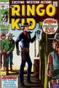 Cover Thumbnail for The Ringo Kid (Marvel, 1970 series) #1