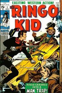 Cover Thumbnail for The Ringo Kid (Marvel, 1970 series) #2
