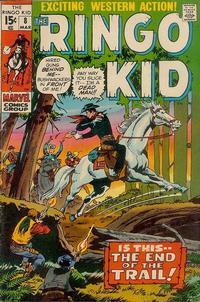 Cover Thumbnail for The Ringo Kid (Marvel, 1970 series) #8