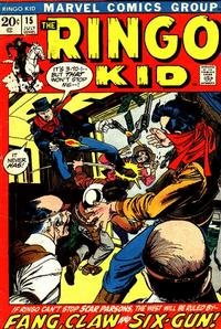 Cover Thumbnail for The Ringo Kid (Marvel, 1970 series) #15