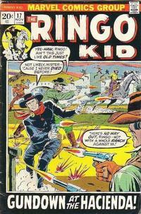 Cover Thumbnail for The Ringo Kid (Marvel, 1970 series) #17