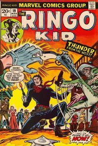 Cover Thumbnail for The Ringo Kid (Marvel, 1970 series) #19