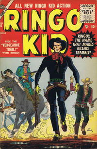 Cover Thumbnail for The Ringo Kid Western (Marvel, 1954 series) #6