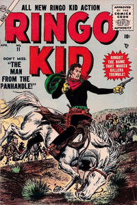 Cover Thumbnail for The Ringo Kid Western (Marvel, 1954 series) #11