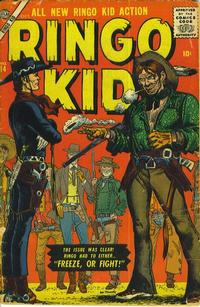 Cover Thumbnail for The Ringo Kid Western (Marvel, 1954 series) #14