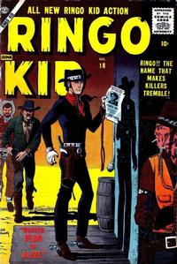 Cover Thumbnail for The Ringo Kid Western (Marvel, 1954 series) #18