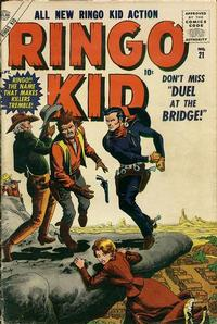 Cover Thumbnail for The Ringo Kid Western (Marvel, 1954 series) #21