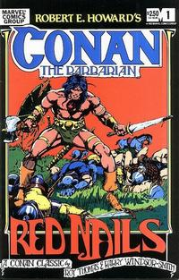 Cover Thumbnail for Robert E. Howard's Conan the Barbarian (Marvel, 1983 series) #1