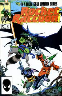 Cover Thumbnail for Rocket Raccoon (Marvel, 1985 series) #2