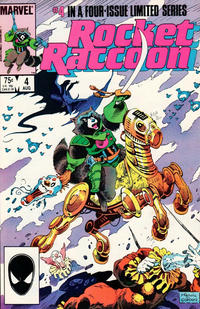 Cover Thumbnail for Rocket Raccoon (Marvel, 1985 series) #4 [Direct]