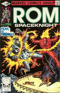 Cover Thumbnail for ROM (Marvel, 1979 series) #4 [Direct Edition]