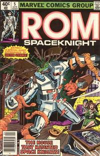 Cover Thumbnail for ROM (Marvel, 1979 series) #5 [Newsstand Edition]