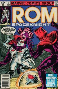 Cover Thumbnail for ROM (Marvel, 1979 series) #6 [Newsstand Edition]