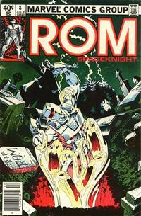 Cover Thumbnail for ROM (Marvel, 1979 series) #8 [Newsstand Edition]